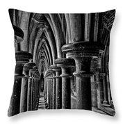 Cloister Colonnade Throw Pillow