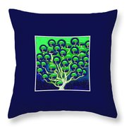cloning of new Life Throw Pillow