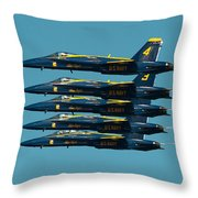 Cloning Throw Pillow