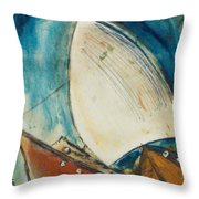 Close Encounter Throw Pillow by Gregory Dallum