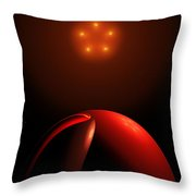 Close Encounters II Throw Pillow