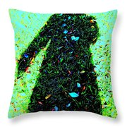 Close To Earth Throw Pillow