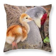 Close To Mother Throw Pillow