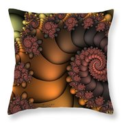 Close To The Earth Throw Pillow