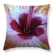 Close-up On Nature Throw Pillow