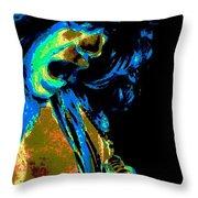 Cosmic Close Up Throw Pillow