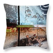 Closed For Repairs Throw Pillow