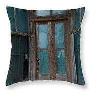 Closed Forever Throw Pillow