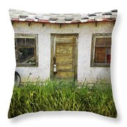 Closed Throw Pillow
