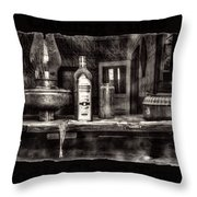 Closing Time Bodie Ghost Town Throw Pillow