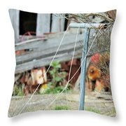 Clothes Line The Real Deal Throw Pillow