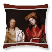 Clothing The Naked Throw Pillow