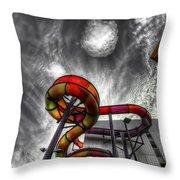 Cloud 9a Throw Pillow