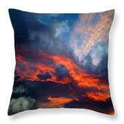 Cloud Abstract 1 Throw Pillow