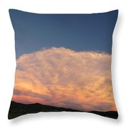 Cloud Afar Throw Pillow