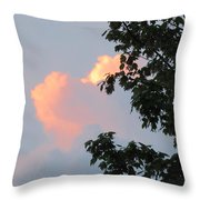 Cloud And Blue Sky Throw Pillow
