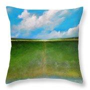 Cloud Animals Throw Pillow