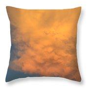 Cloud At Sunset Throw Pillow