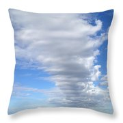 Cloud By Day Throw Pillow