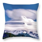 Cloud Cap Throw Pillow