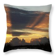 Cloud Cast Glory Throw Pillow