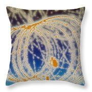 Cloud Chamber Throw Pillow