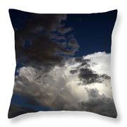 Cloud Collide Throw Pillow