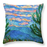 Cloud Color Throw Pillow
