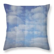 Cloud Curtain Throw Pillow