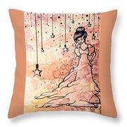 Cloud Dancer Throw Pillow