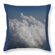 Cloud Depth II Throw Pillow