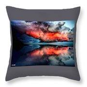 Cloud Fantasia Reflected L A S Throw Pillow