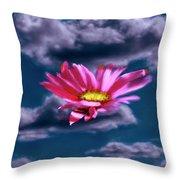 Cloud Flower.  Throw Pillow