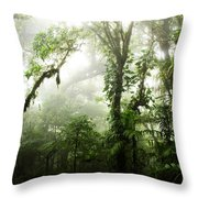 Cloud Forest Throw Pillow
