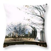 Cloud Gate - 1 Throw Pillow