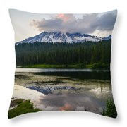 Cloud Hog Throw Pillow