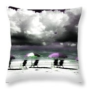 Cloud Illusions Throw Pillow