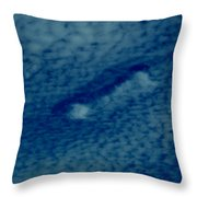 Cloud Interrupted Throw Pillow