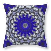 Cloud Kaleidoscope Throw Pillow
