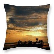 Cloud Landscape. On The Aegean Sea.  Throw Pillow