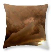 Cloud Layers Throw Pillow