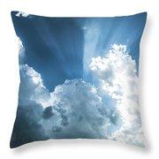 Cloud Light  Throw Pillow