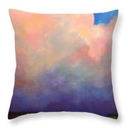 Cloud Light Throw Pillow by Toni Grote
