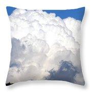 Cloud Nine 10 Throw Pillow