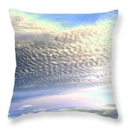 Cloud Nine 5 Throw Pillow