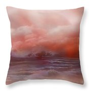 Cloud Ocean Throw Pillow