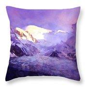 Cloud Peak  Throw Pillow