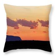 Cloud Puffs Throw Pillow