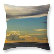 Cloud Racers  Throw Pillow