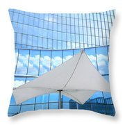 Cloud Reflections - Revel Hotel Throw Pillow